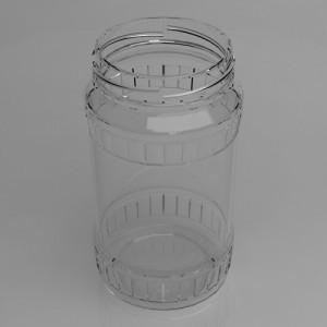 Facett 370ml - es befőttes üveg