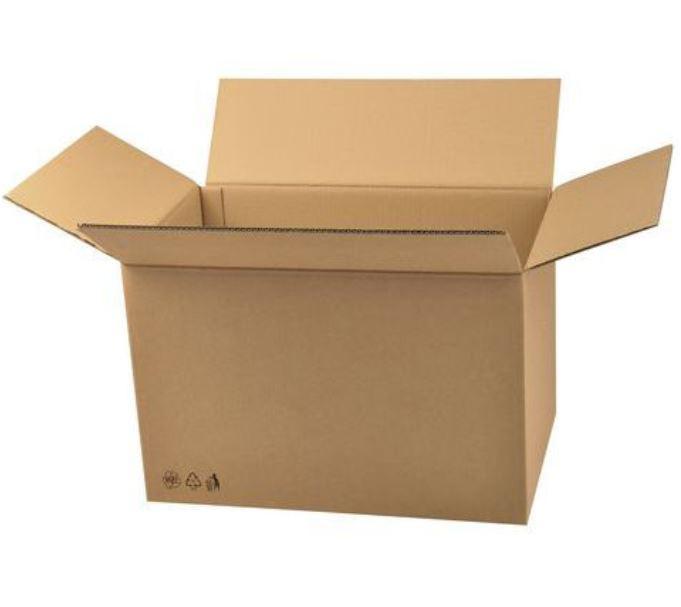Kartondobozok, 25,4 x 42,4 x 32,4 cm, 20 db