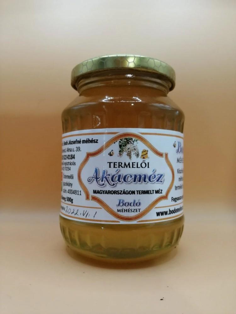 Bodó Méhészet Akácméz 0,5 kg